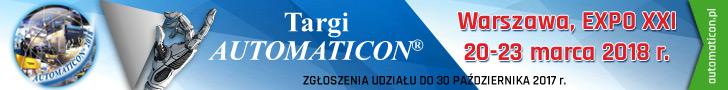 AUTOMATICON - AUTOMATYKA POMIARY ELEKTRONIKA - Międzynarodowe Targi Automatyki i Pomiarów International Fair for Industrial Automation.