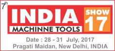 IMTOS 2017 - India Machinne Tools. Localization: Pragati Maidan, New Delhi, India. Date: 28-31 July 2017.